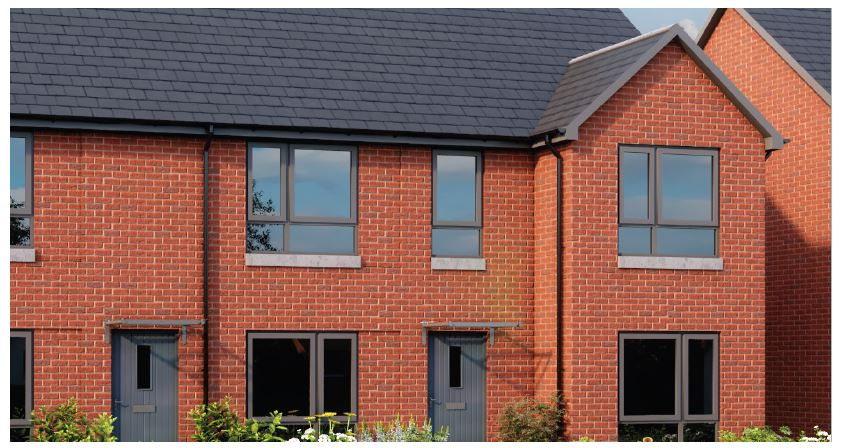 The Mirren at our Love Street development in Paisley, Scotland.