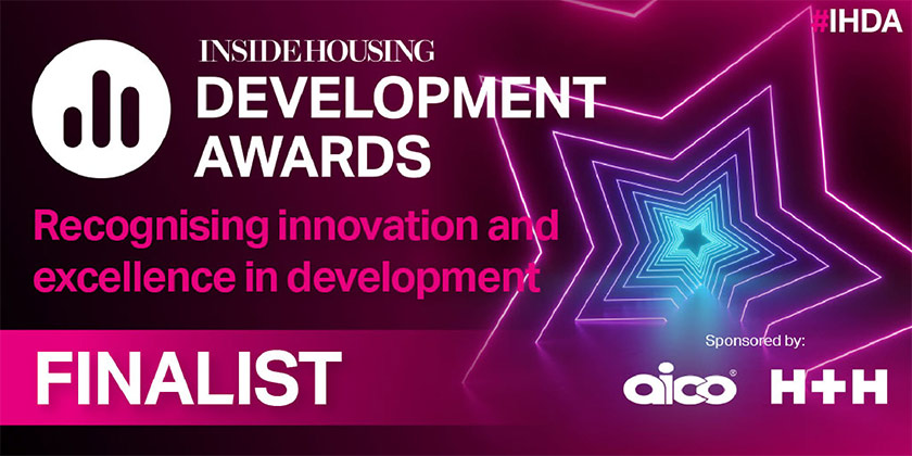 Inside Housing Development Awards recognising innovation and excellence in development finalist