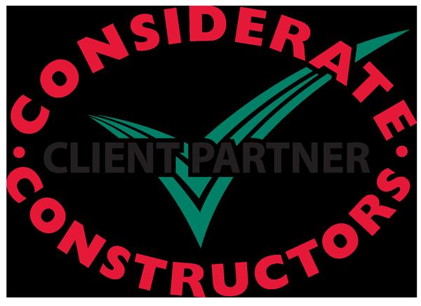 Considerate Constructors Scheme client partner logo