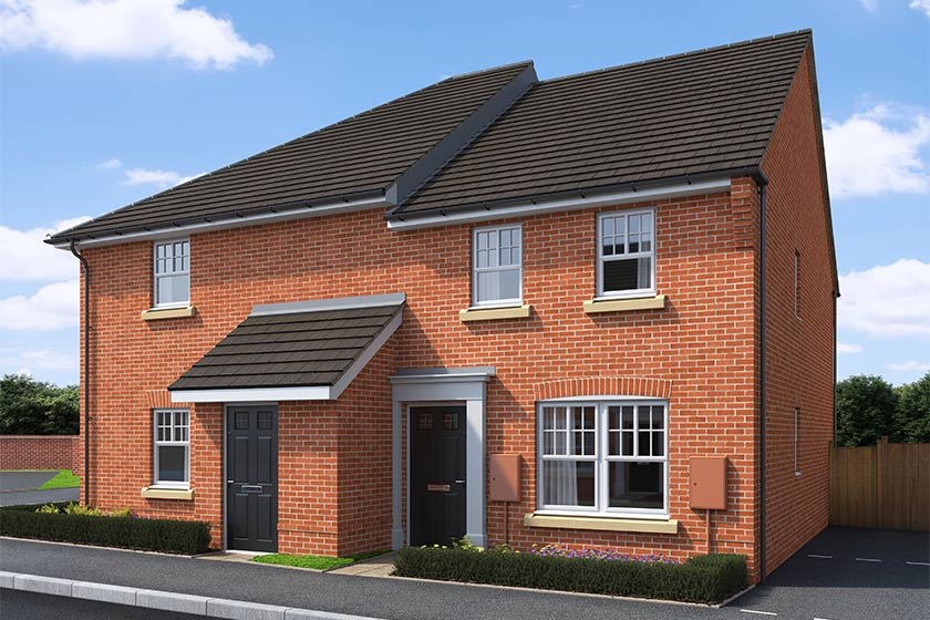 CGI rendering of the Bosun house type at High Elms Park