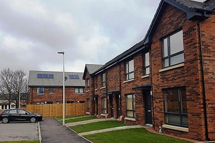 Award winning properties at Love Street housing development..