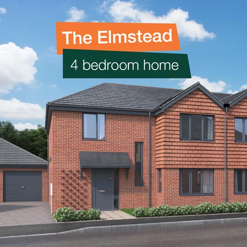 The Elmstead - 4 bedroom home