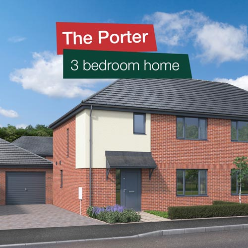 The Porter - 3 bedroom home