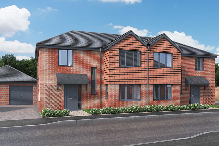 CGI of The Elmstead in Frating, Essex