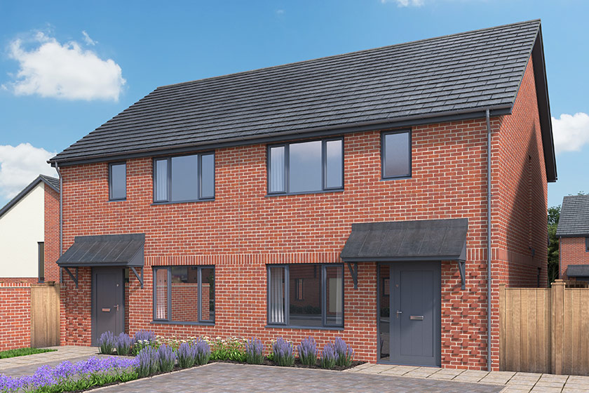 CGI of The Hythe in Frating, Essex