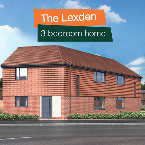 The Lexden property at Penny Fields