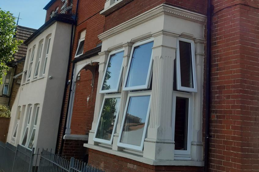 A picture of Sanctuary Homes provides new windows for Southend homeless charity