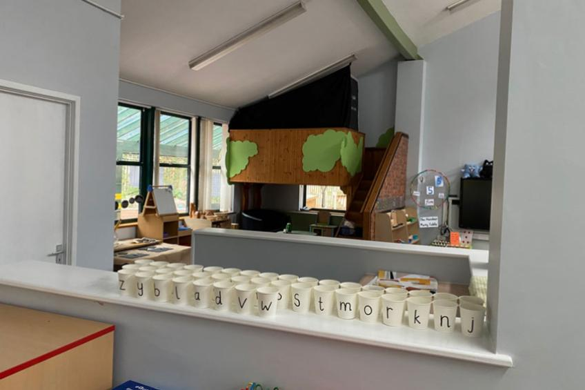 A picture of Sanctuary enhances classroom for Malvern schoolchildren