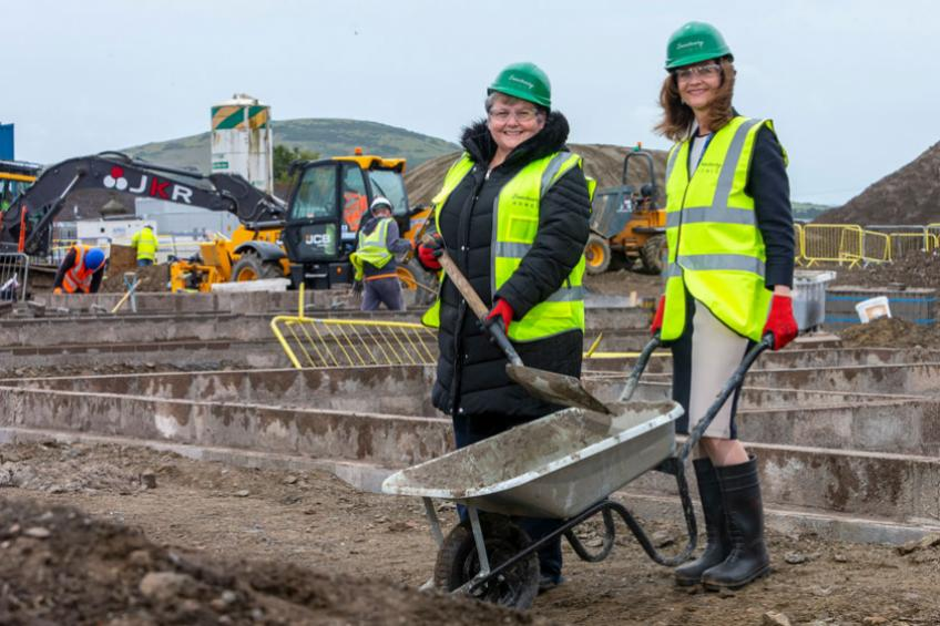 A picture of Build begins on affordable Sanctuary homes in Portsoy