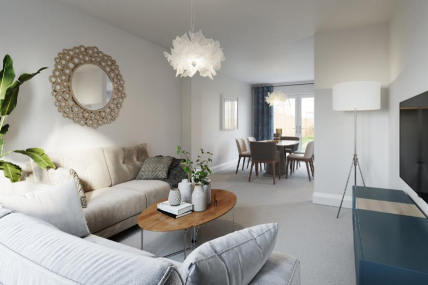 A picture of First homes sold at Glastonbury development
