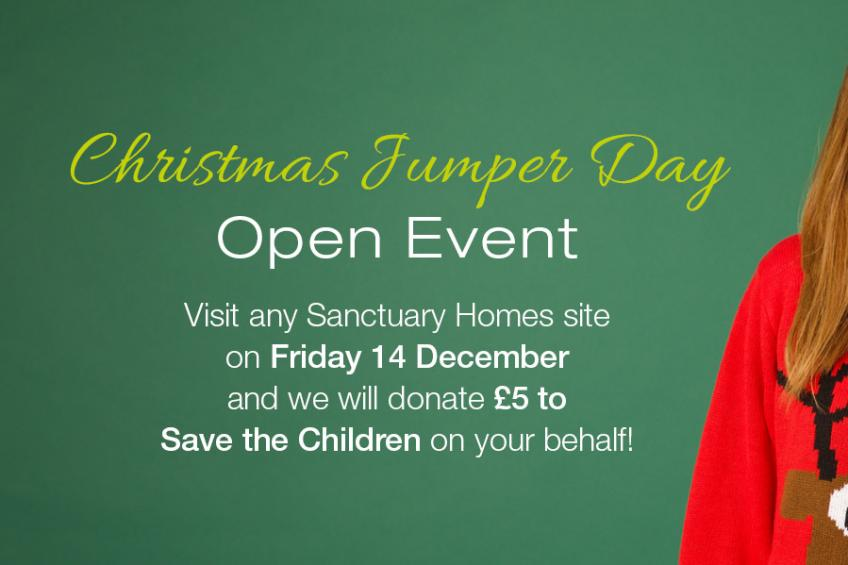 A picture of Sanctuary Homes Christmas Jumper Day Event