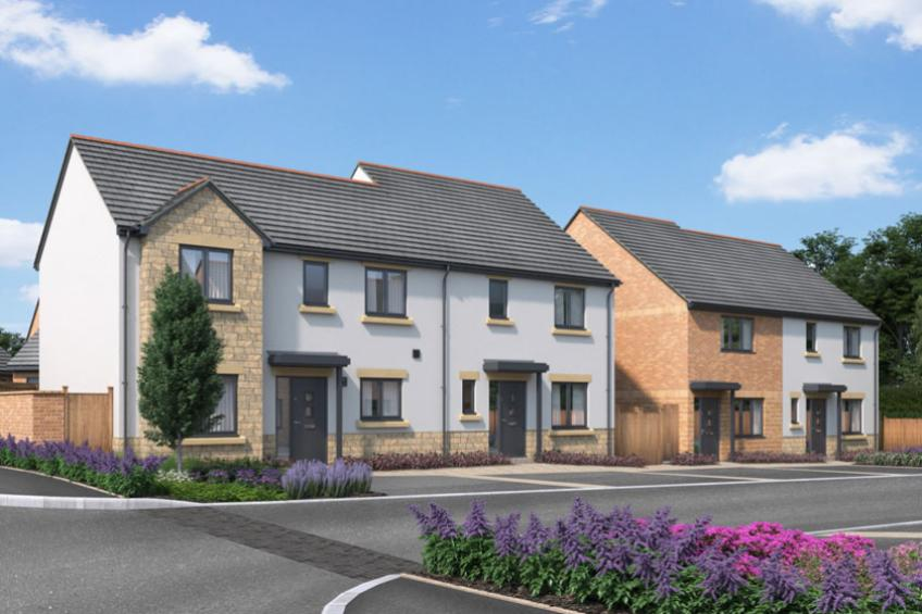A picture of New Glastonbury homes set to go on sale