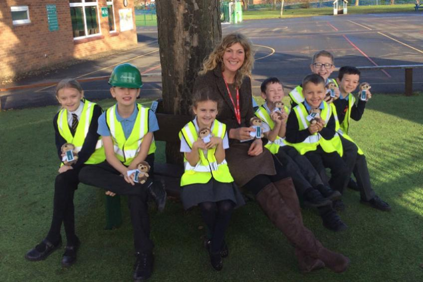 A picture of Inspired schoolchildren explore world of development with Sanctuary