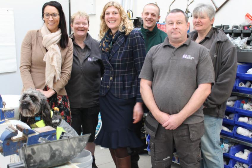 A picture of Sanctuary Homes boost for Worcester charity