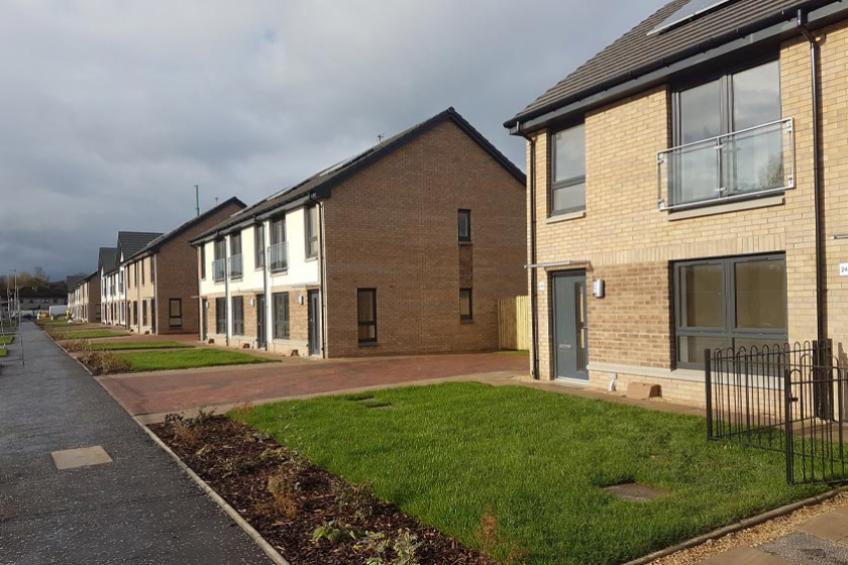 A picture of Sanctuary delivers energy efficient homes