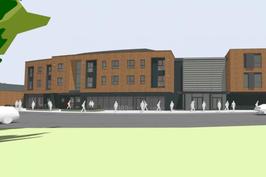 A picture of Green light for health centre and apartments in Blacon