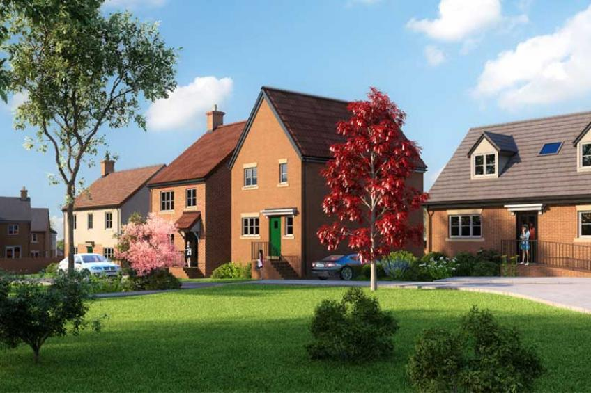A picture of New homes coming to Malvern