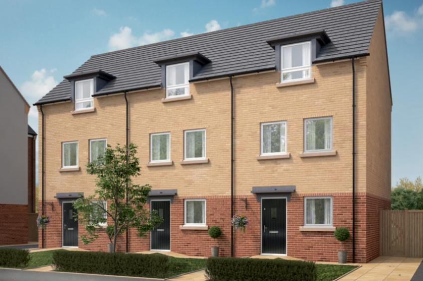 A picture of Show home opens doors on new housing development