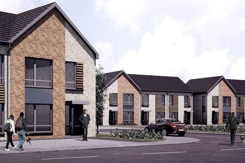 A picture of Work begins on affordable Paisley homes at Gleniffer Reach