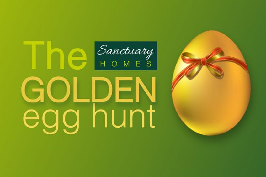 A picture of Win! Sanctuary Homes Golden Egg Hunt