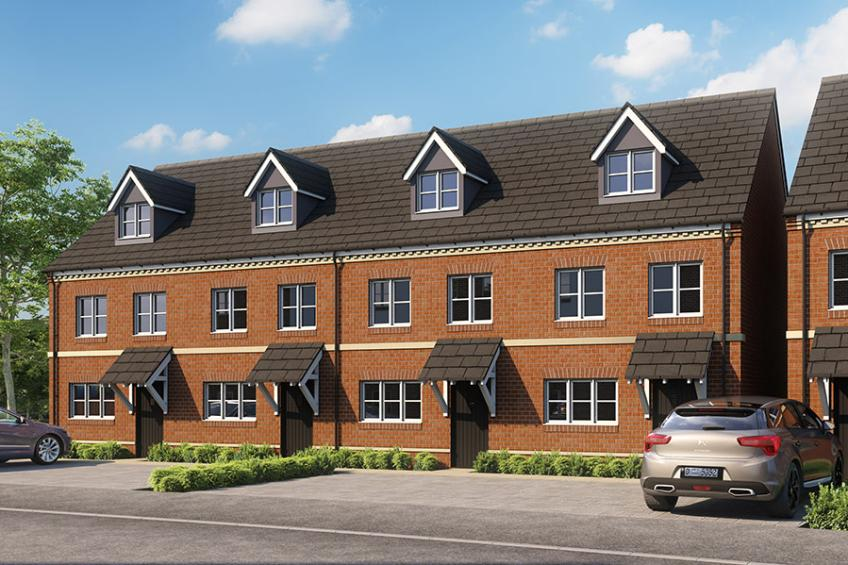 A picture of Construction starts on nearly 60 new homes in Banbury