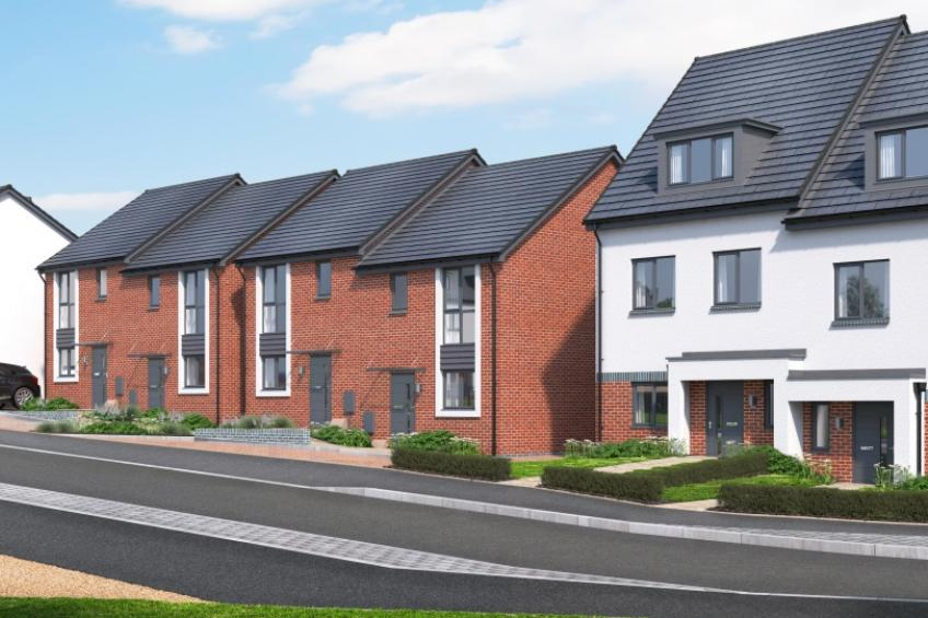 A picture of Development bringing 118 new homes to Gloucester