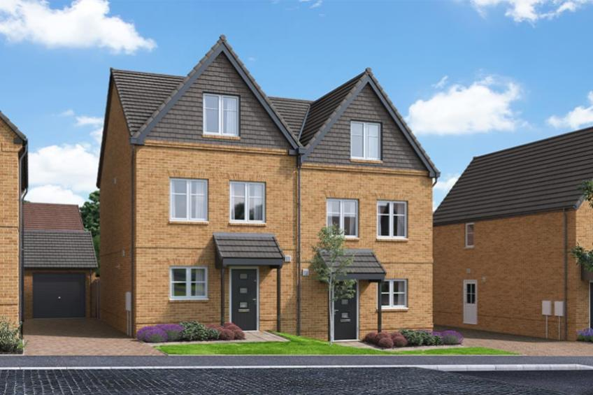 A picture of The Braeburn - 3 Bed Semi-Detached House