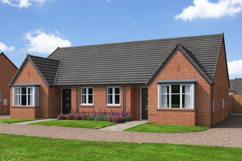 A picture of The Foxwhelp - 2 Bed Semi-Detached Bungalow