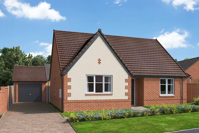 A picture of The Tydeman - 2 Bed Semi-Detached Bungalow