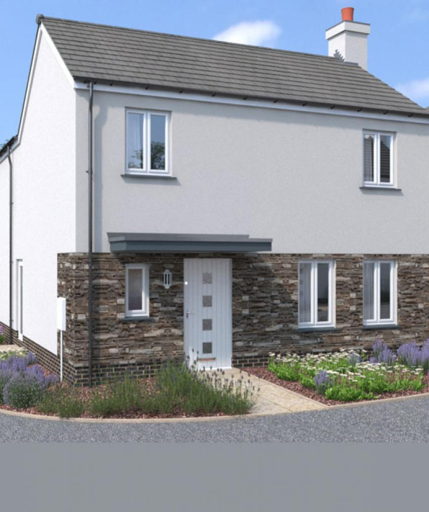 New builds cornwall