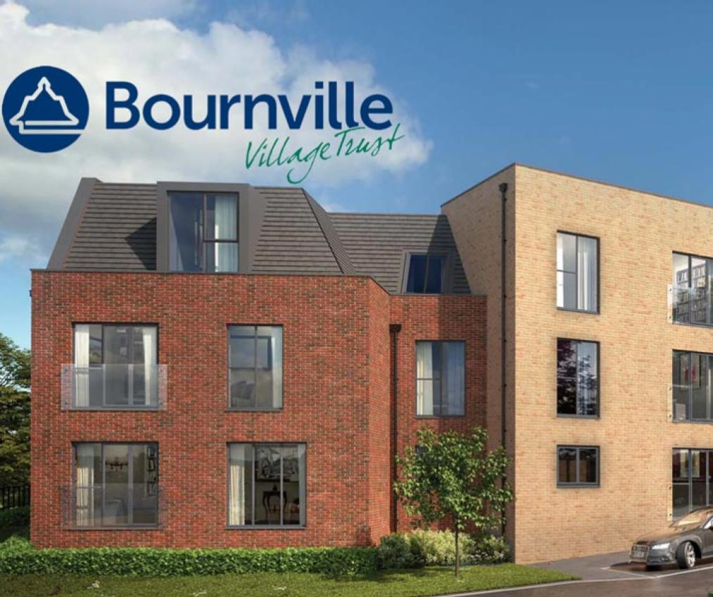 CGI of Bournville Park