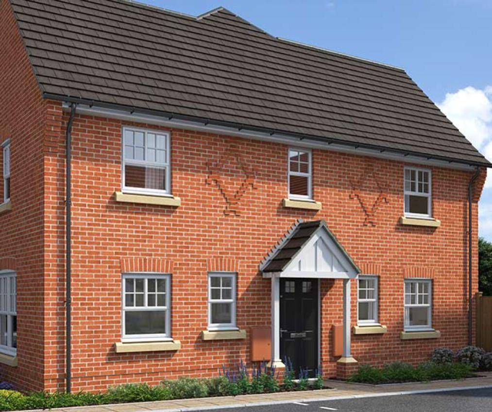 CGI rendering of the Furling house type at High Elms Park