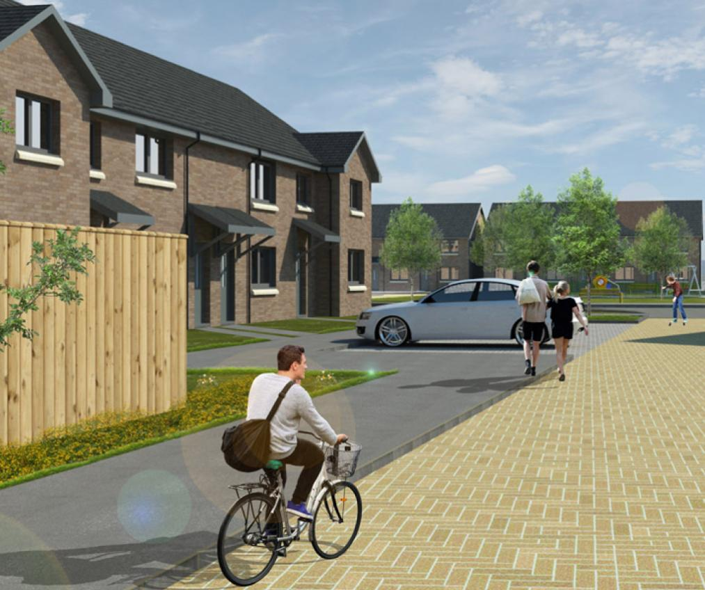 3 Bedroom House For Sale Paisley: Love Street - New Build Development In Paisley