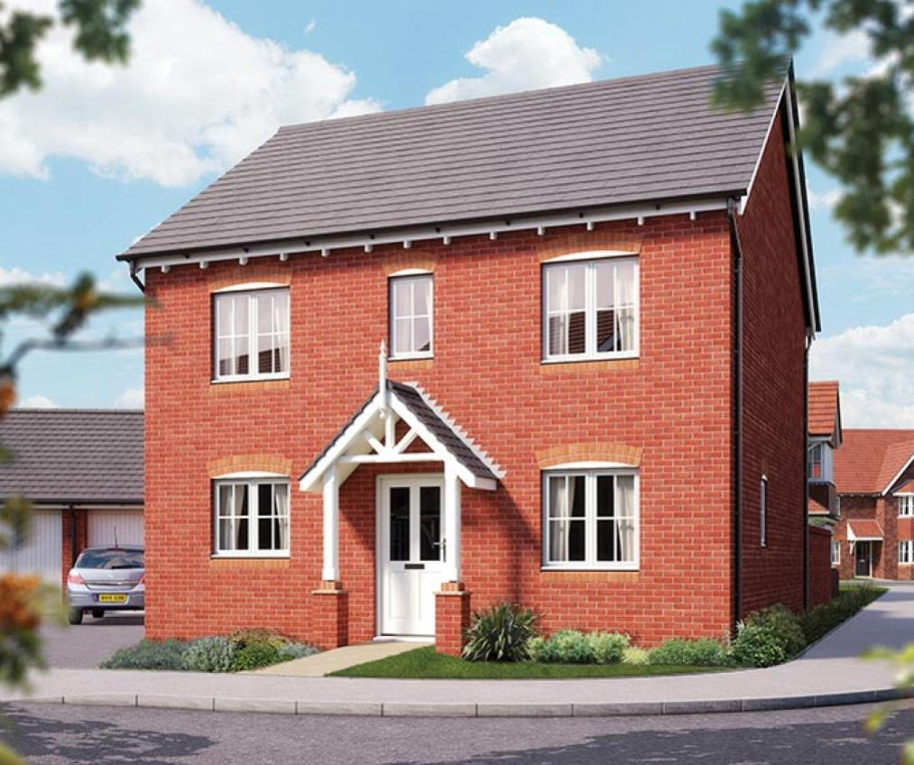 The Buxton at Millwood Meadows CGI rendering