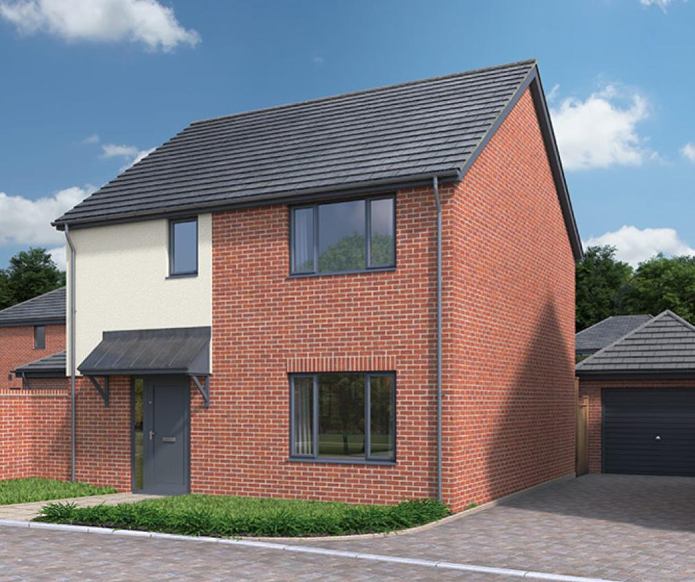 CGI of The Ardleigh in Frating, Essex