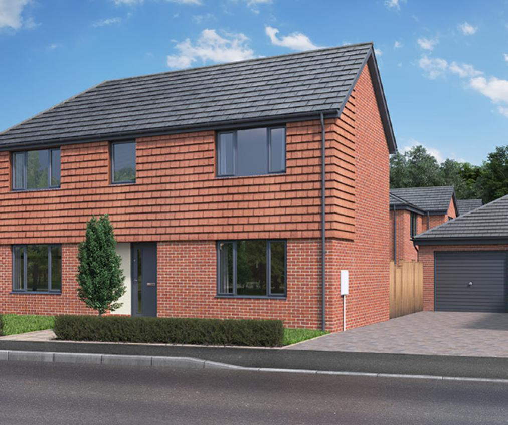 CGI of The Bentley in Frating, Essex