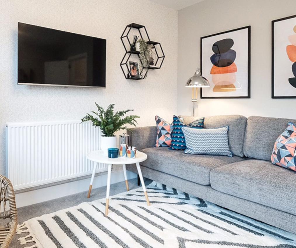 Example living room at The Boatyard