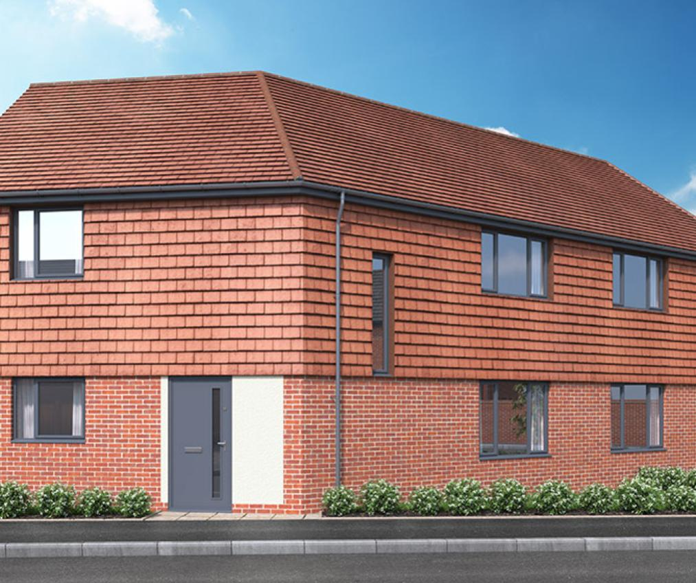 CGI of The Lexden in Frating, Essex
