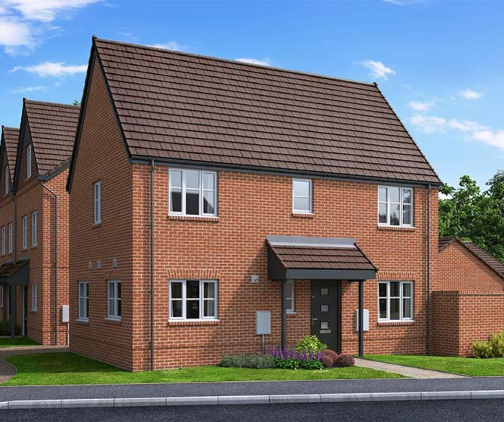 The Proposed Exterior (CGI) Of The Merton, A 3 Bed Detached House