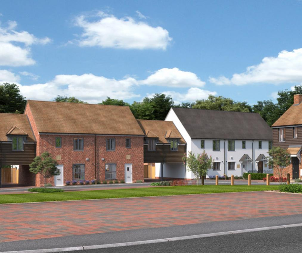 CGI of the Three Acres development