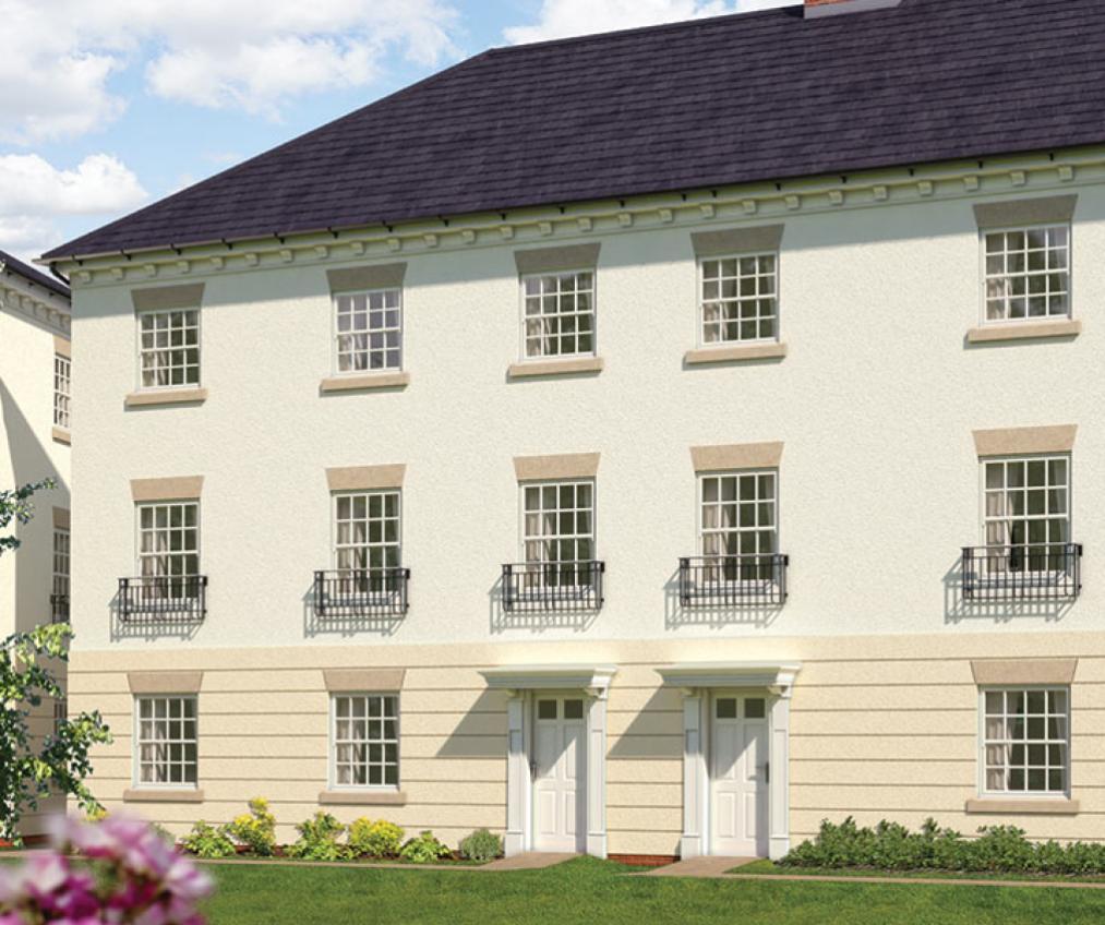 Warwick Gates development in Leamington Spa