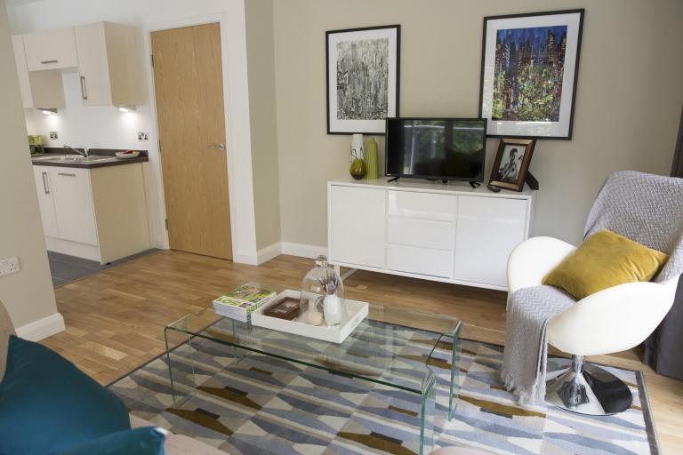 Show suite lounge