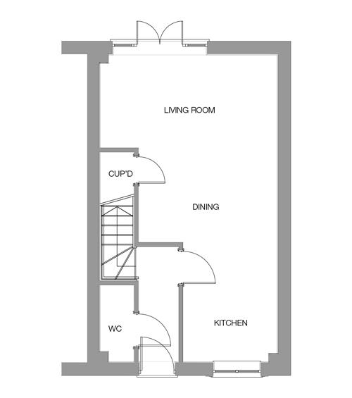 The Beech Ground Floor floor plan