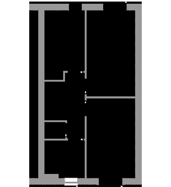 The Hazel first floor floorplan