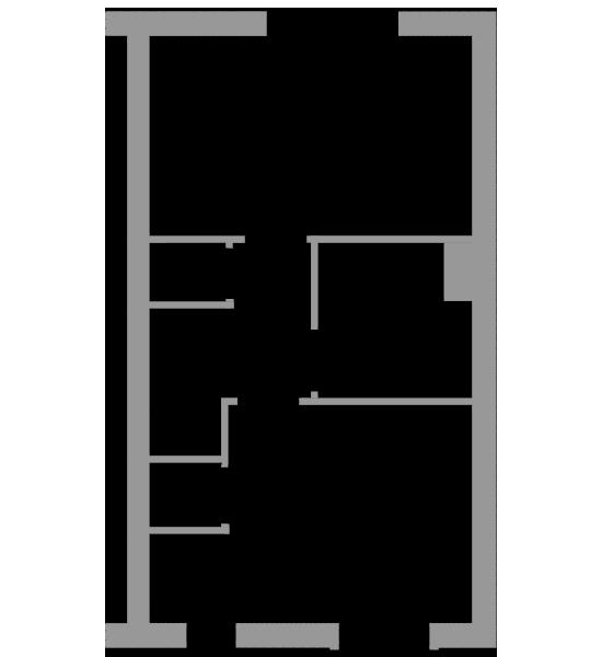 The Poplar first floor floorplan
