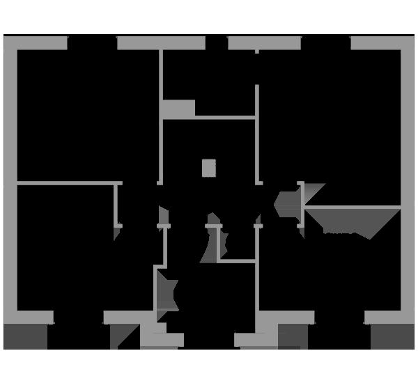 The Sycamore first floor floorplan