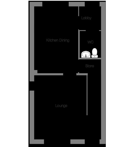 The Bosun ground floor floorplan