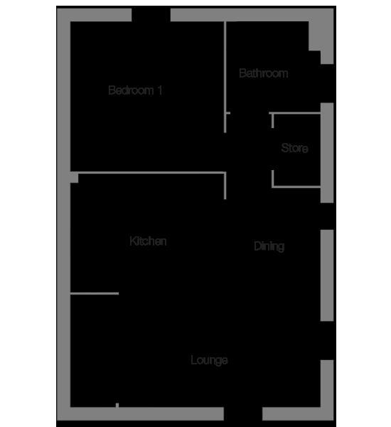 The Leeward ground floor floorplan