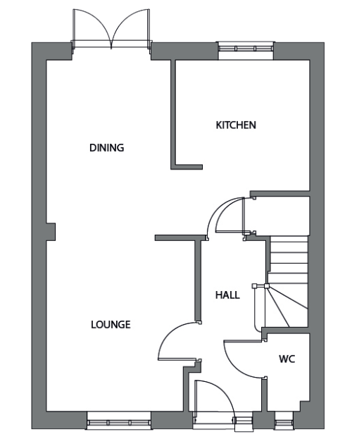The Admiral ground floor floor plan