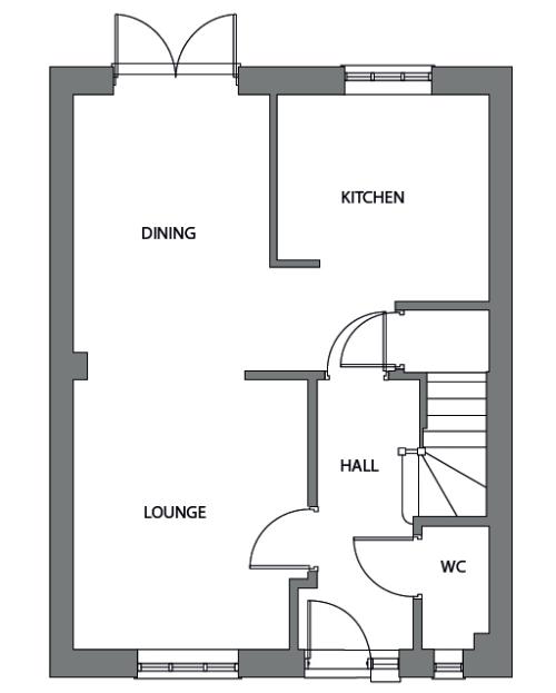 The Admiral ground floor floor plan